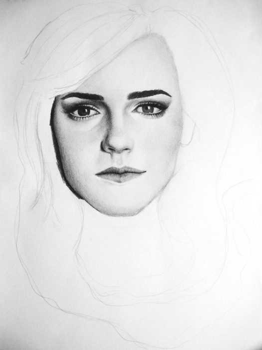 Emma Watson par Patcha